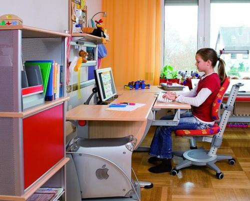 Правильная организация рабочего места для школьника