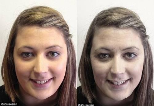 лицо курильщика до и после фото